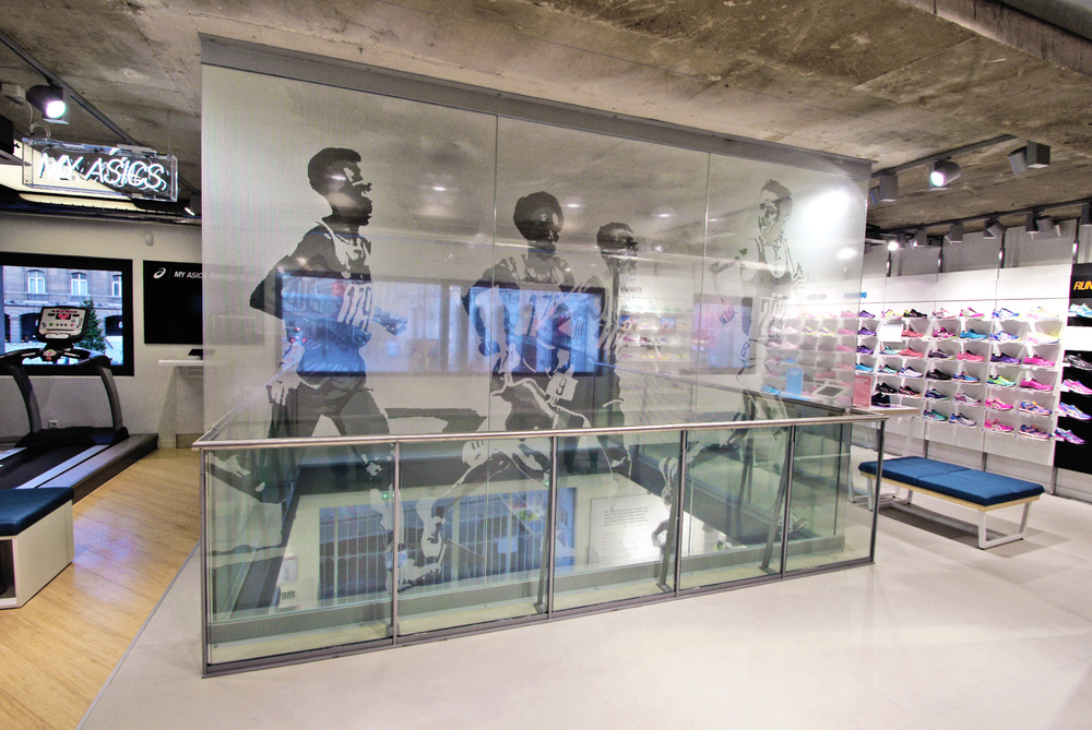 Home Of Asics Concept_Glass Wall