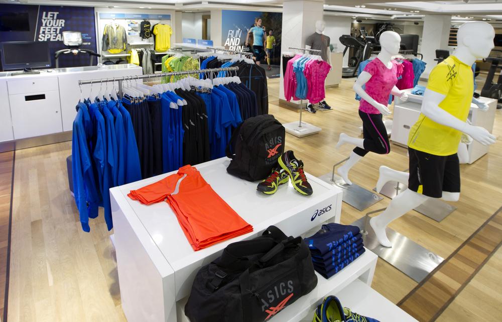 Shop-In-Shop in Harrods, London.