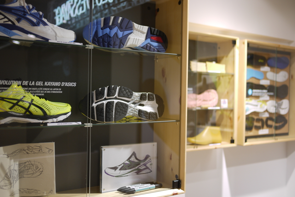 Home Of Asics Concept_Footwear Display
