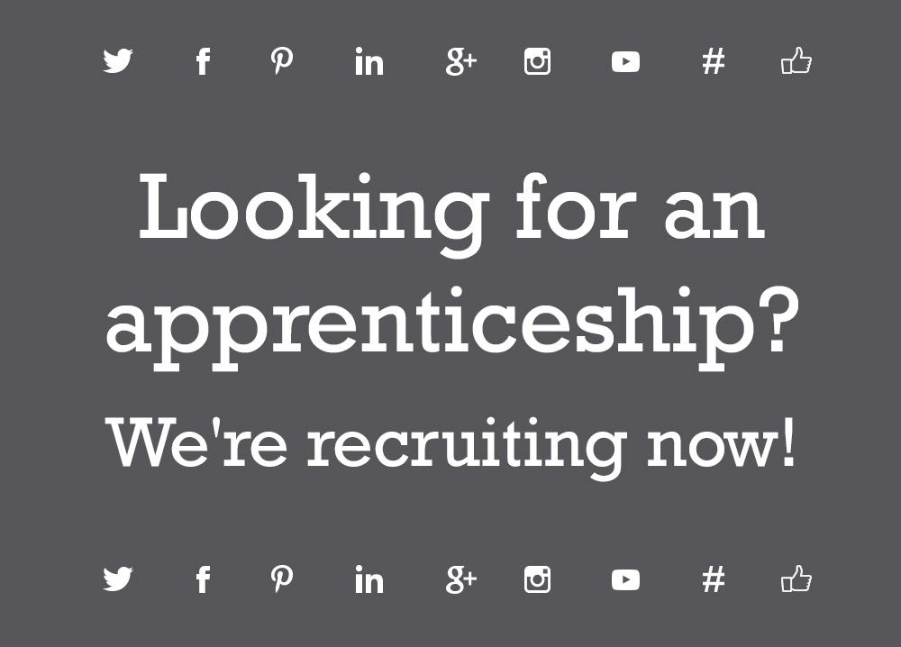 We are seeking a social media apprentice