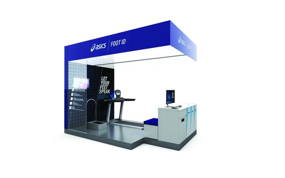 ASICS retail design