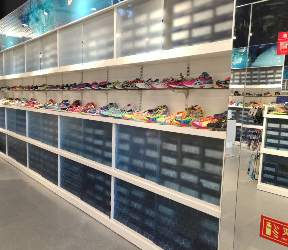 ASICS retail design