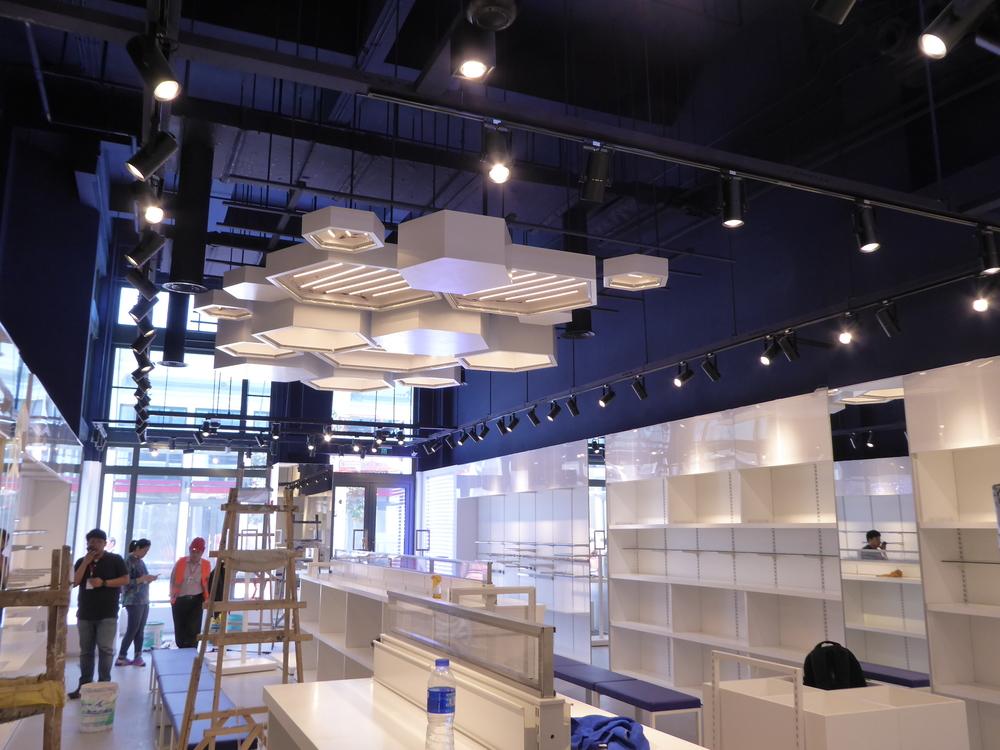 ASICS store interior