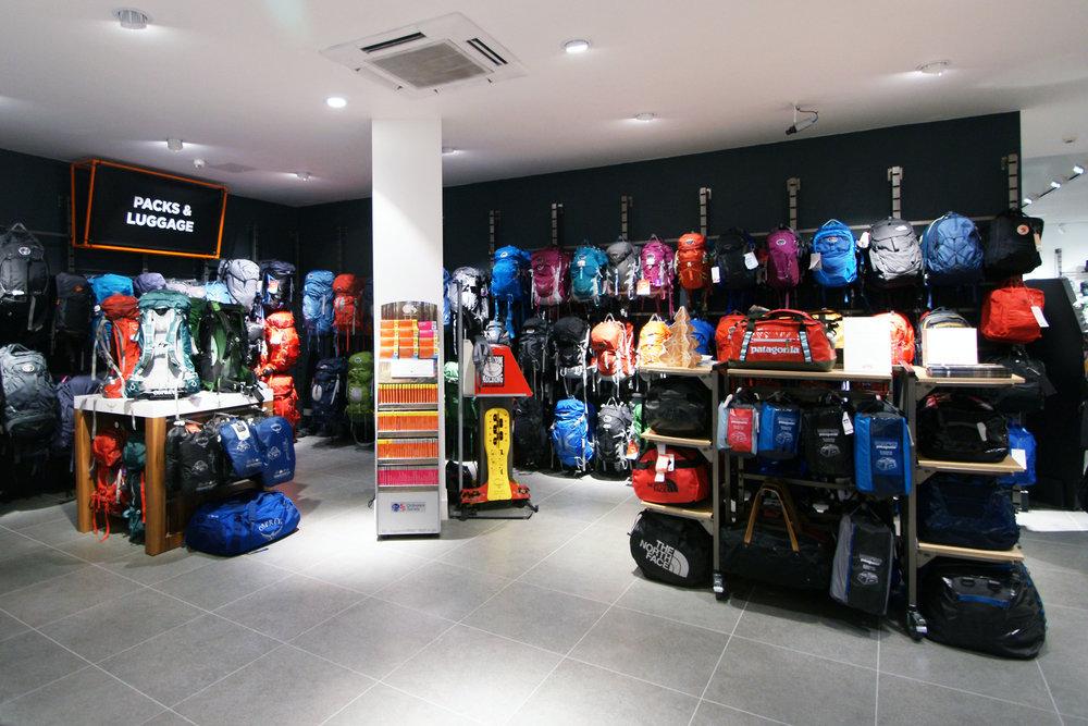 Ellis Brigham store layout