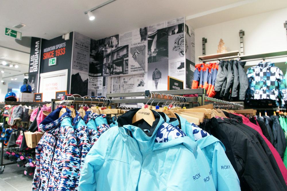Ellis Brigham retail fixtures