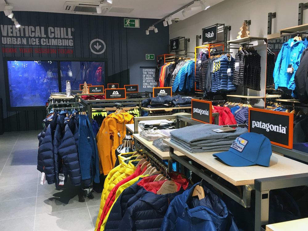 Ellis Brigham store design