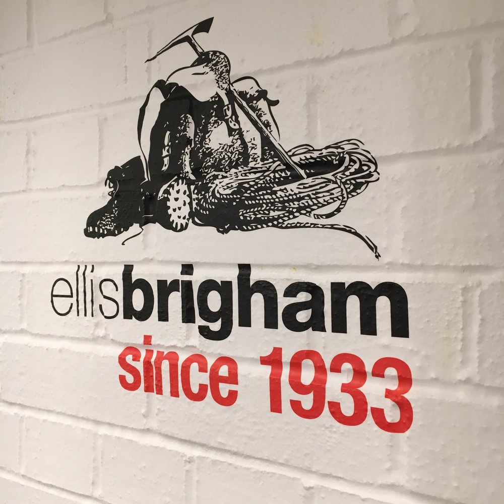 Ellis Brigham retail graphics