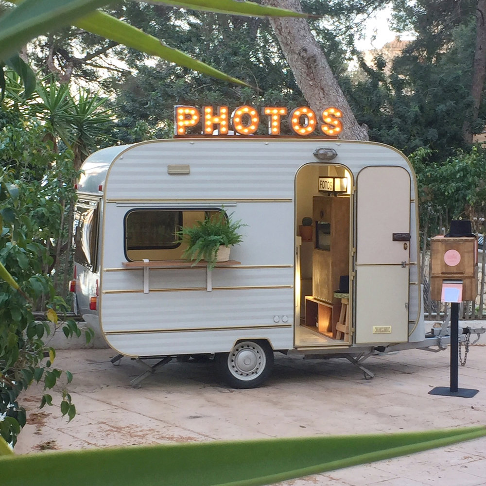 risbox Photo Booth caravana