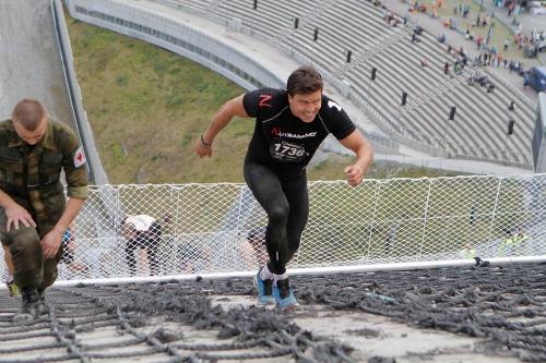 Målgang Toughest Race Holmenkollen 2014