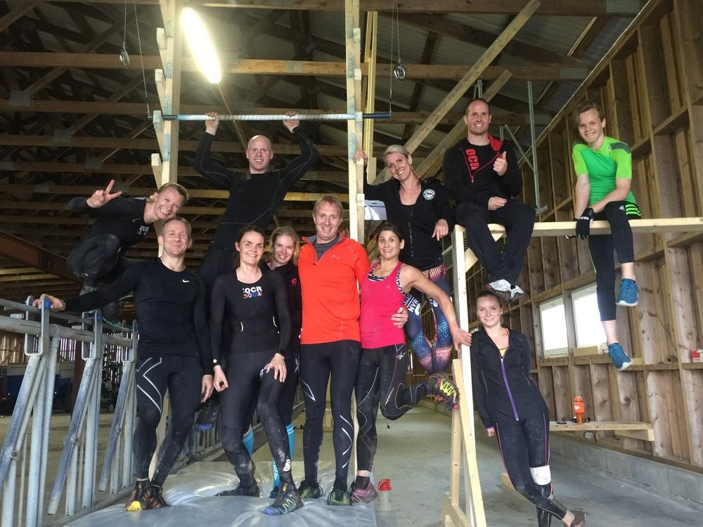 Team OCRNorway - for en herlig gjeng!  ...og Bjarte - vi sees snart igjen!