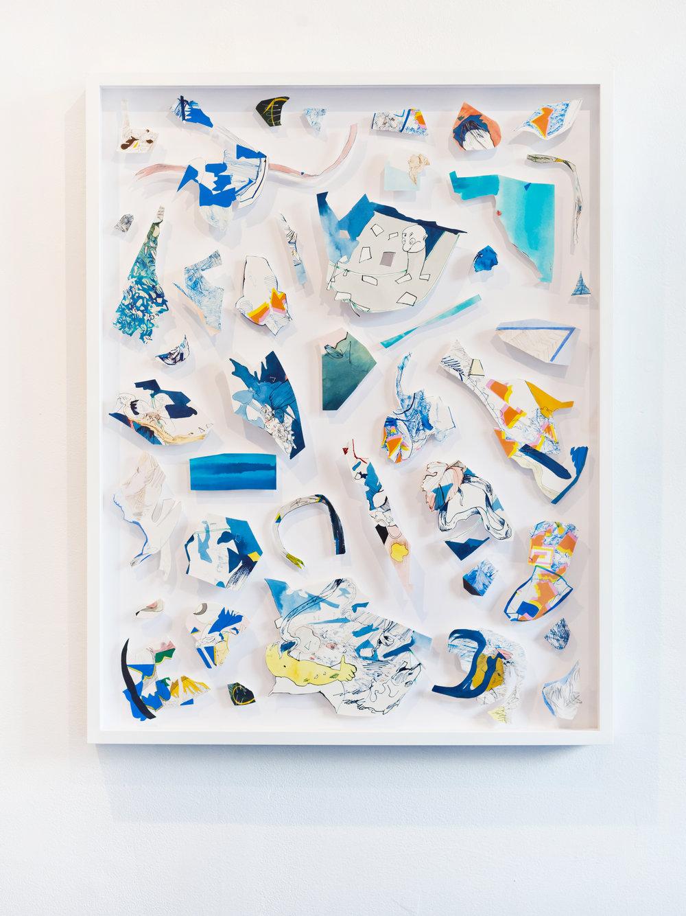 Blue Colour by Sarah Davidson