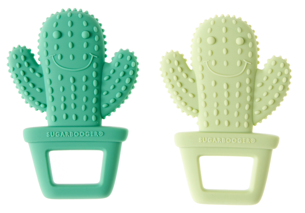 Silicon Cactus Teether