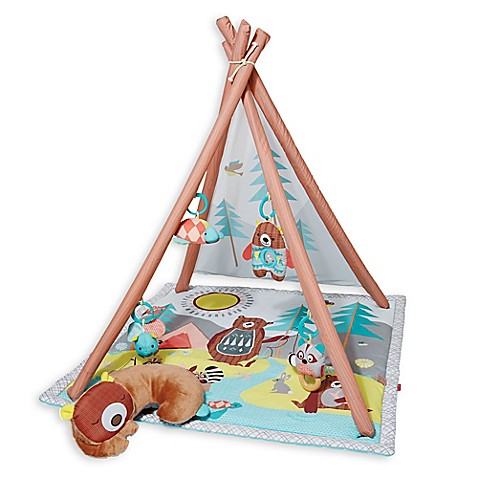Activity Gym we used for tummy time from 1 to 5 months