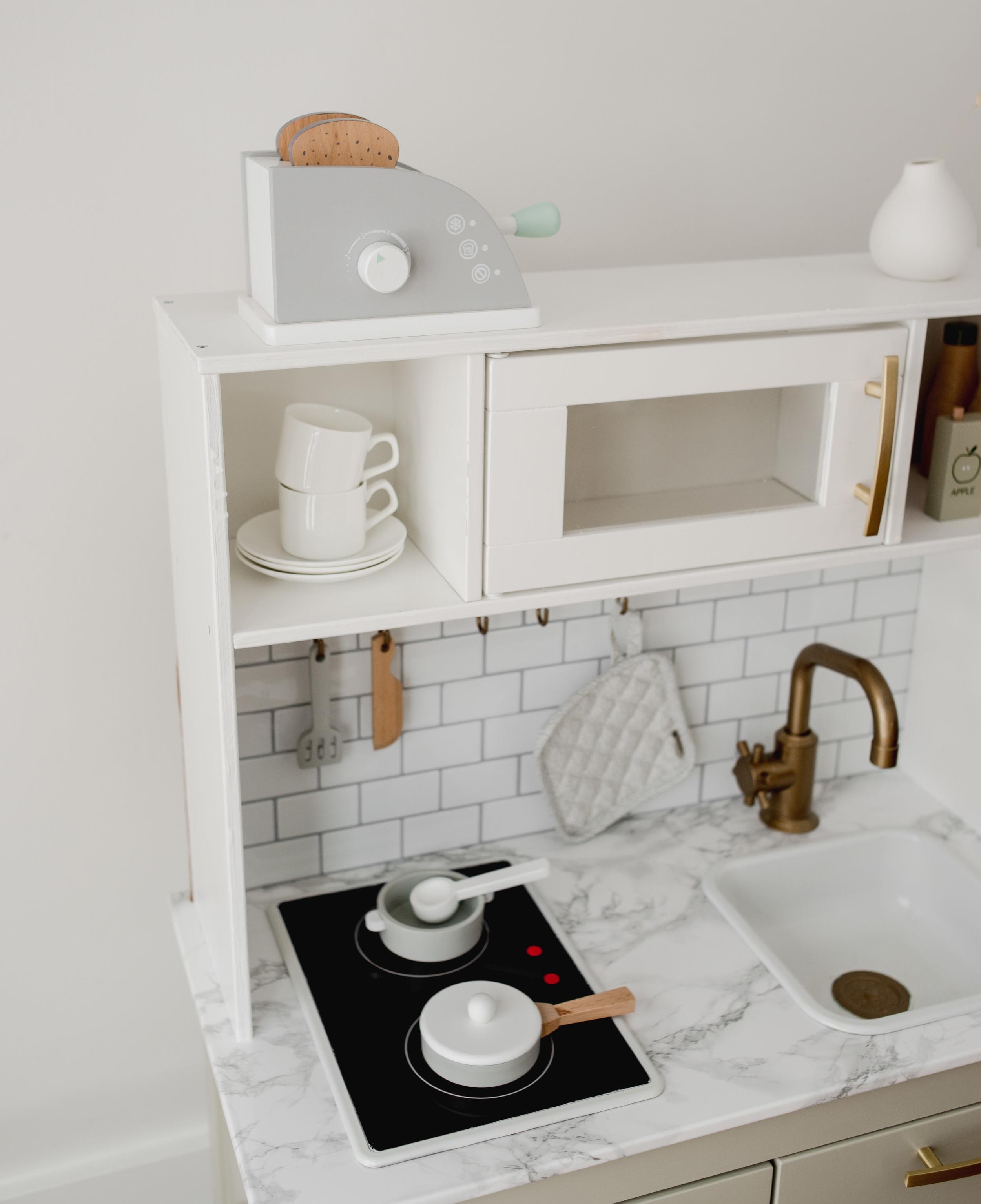 Scandinavian Modern Ikea Play Kitchen Hack Miss Jess Craven
