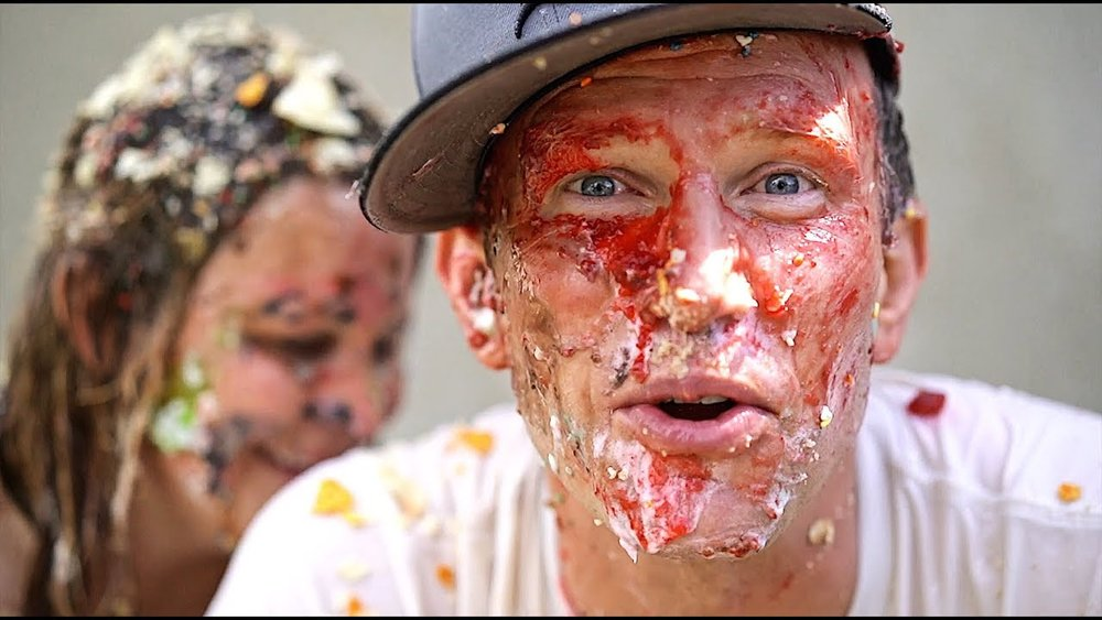 KIDS SLIMED US WITH JUNK FOOD - CLICK HERE TO WATCH IT