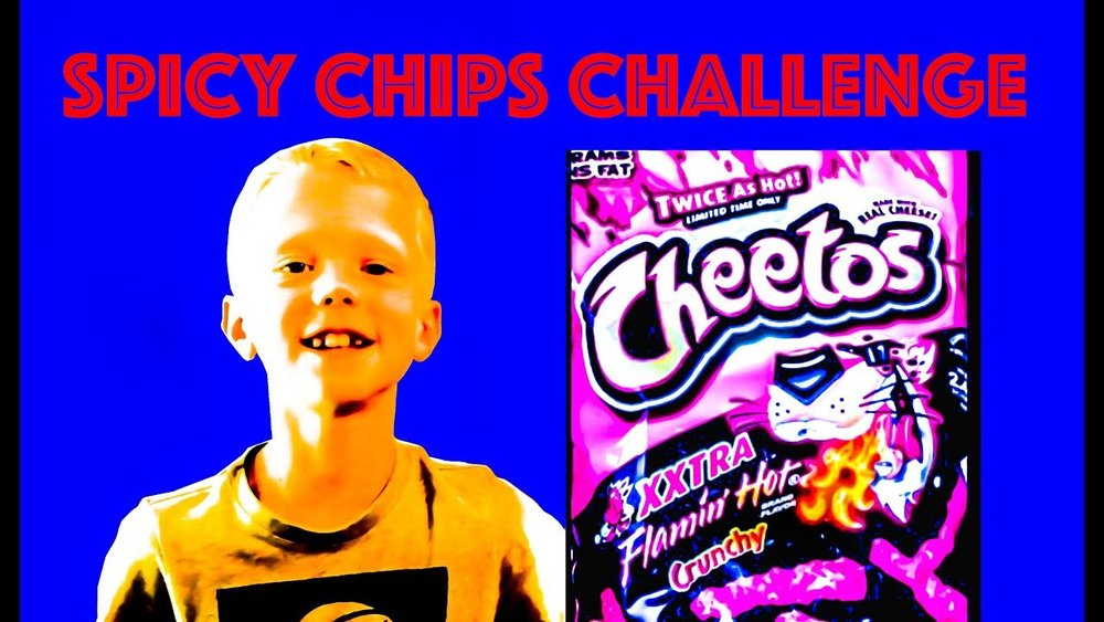 DAVIS BOYS SPICY CHIPS CHALLENGE - CLICK HERE TO WATCH IT