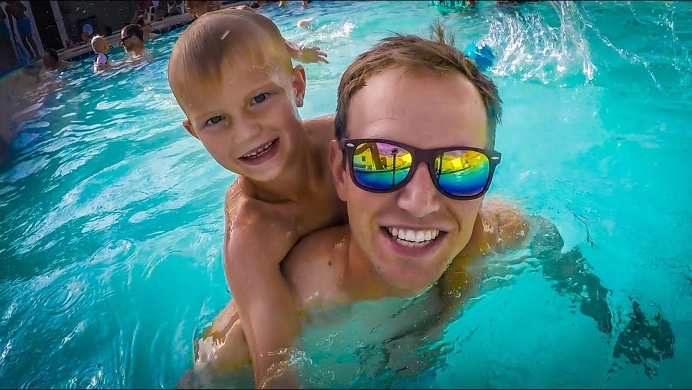 THERE'S SOMETHING SPECIAL ABOUT THIS PLACE (PICKLEVILLE PLAYHOUSE IN BEAR LAKE, UT) - CLICK HERE TO WATCH IT-TJ does one show, we go to the pool/beach for some water acrobatics, and then tell part of the Pickleville origin story