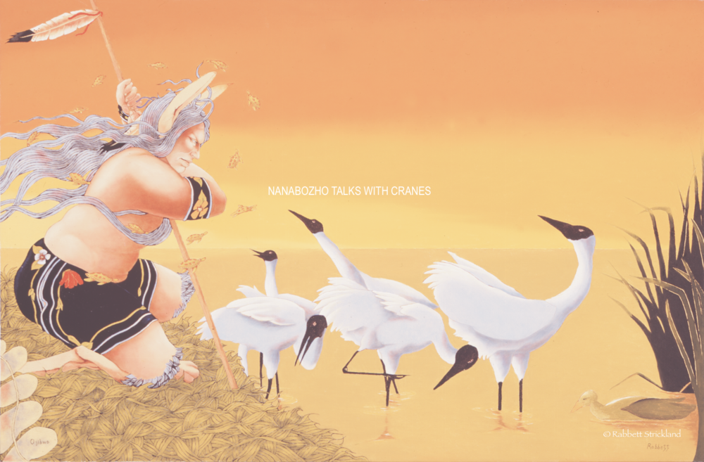 Nanabozho Talks With Cranes.png