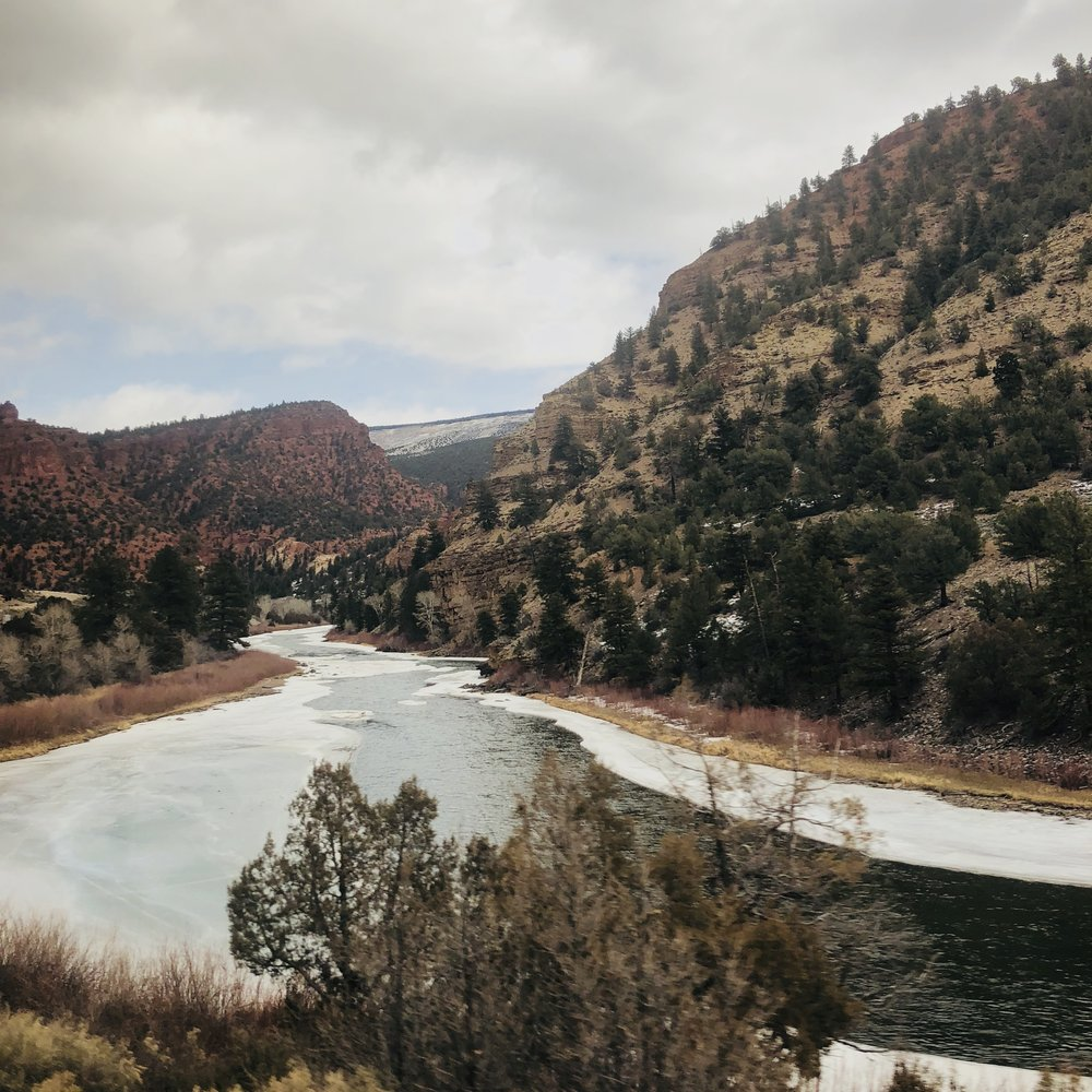 From the train, somewhere in Colorado