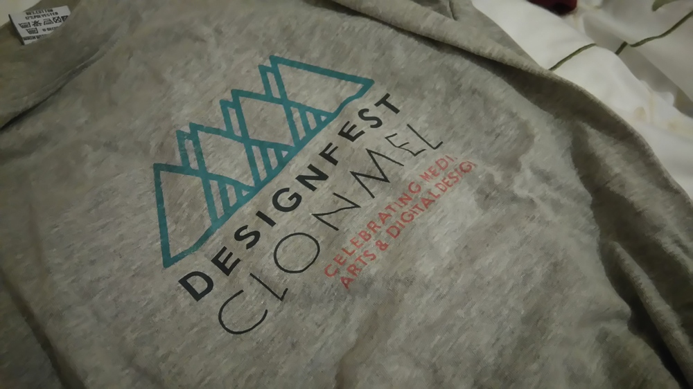 I didn't take any decent photos at DesignFest... I did help out though, so here's a t-shirt... It'll have to do. :)
