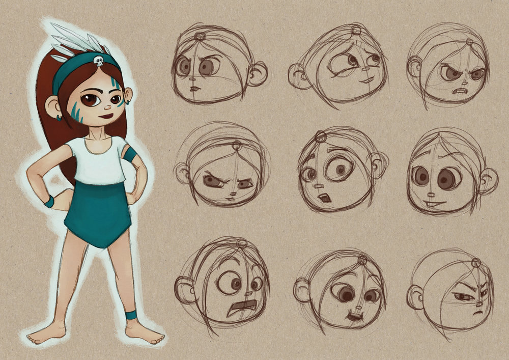 OCC_Lucy_Expressions