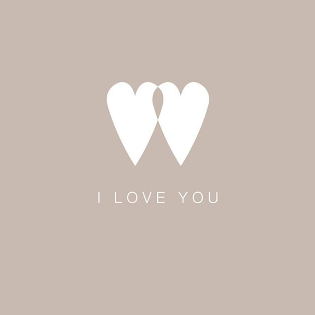 ...we say it everyday. Valentine's Day cards in the making, first up, hearts entwined coming soon 💞
