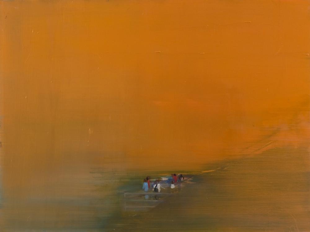 Orange Landscape, 2008