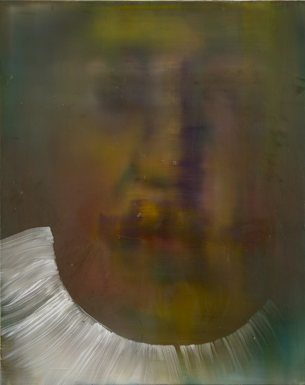 Close-up of a Dutch man and his Collar (after Jacob Backer), 2013