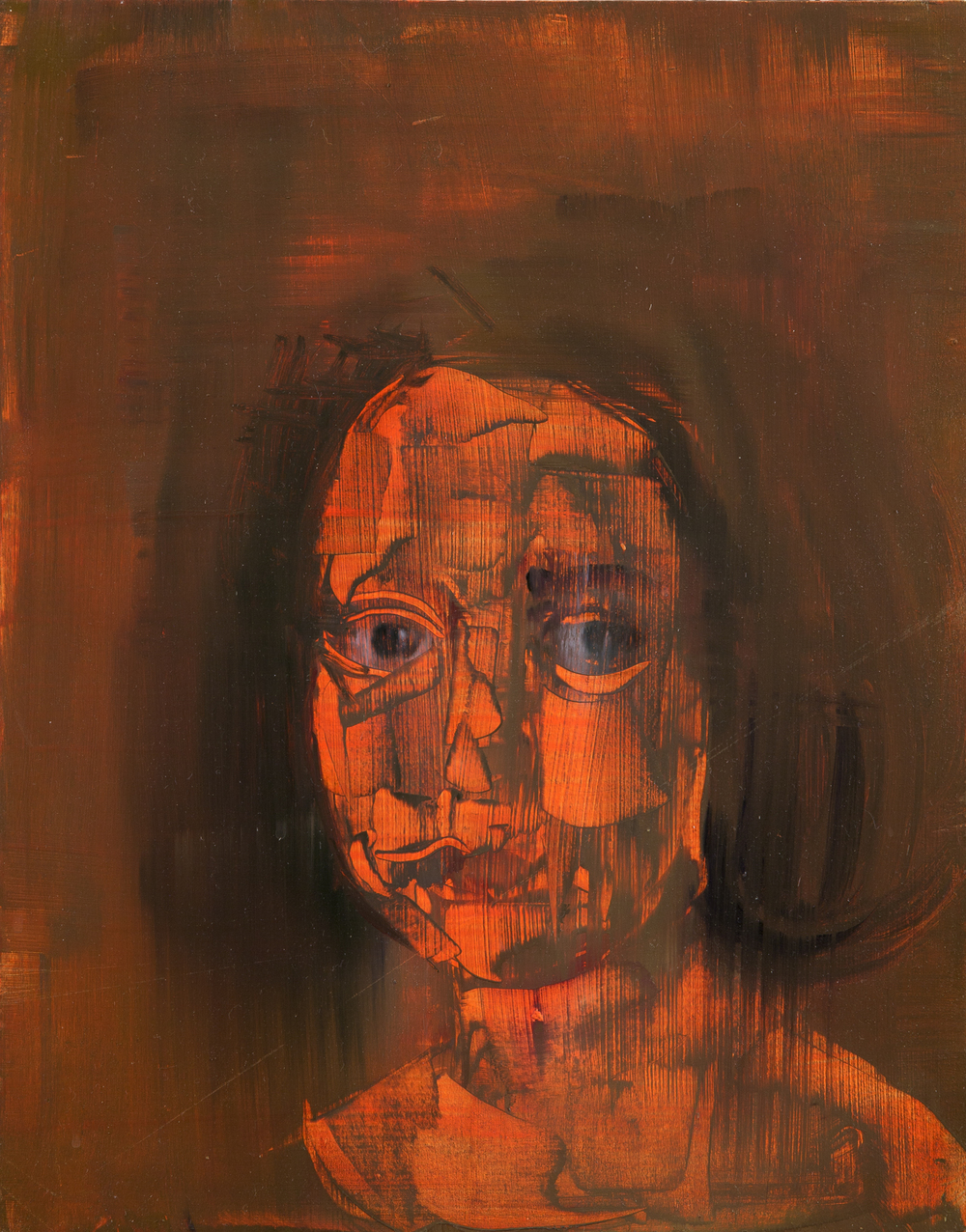 A Little Girl (After Velazquez), 2012