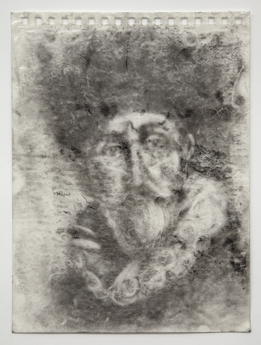 Interleaf Drawing (after Rembrandt), 2013