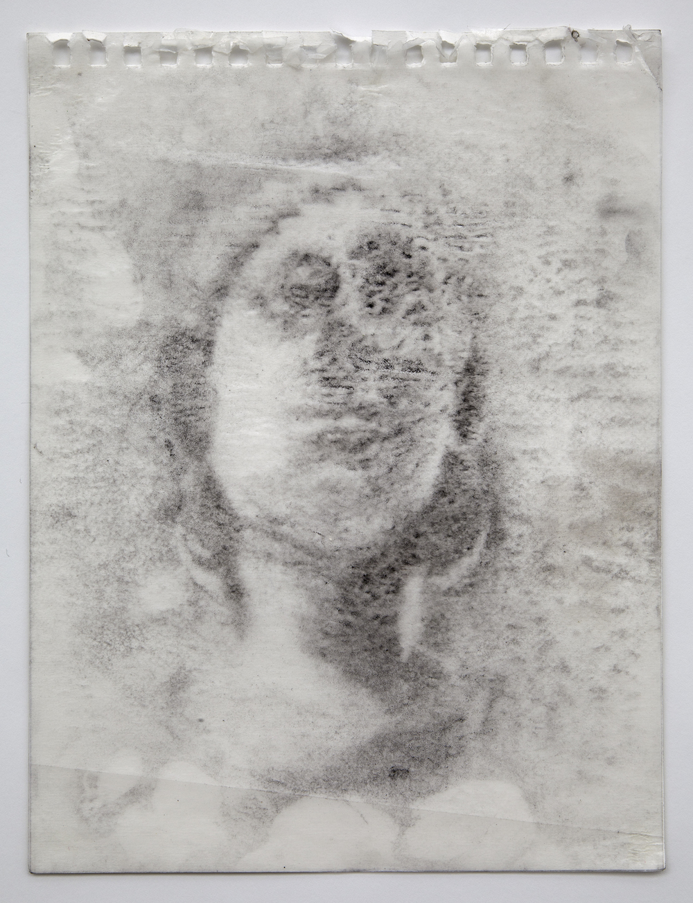 Interleaf Drawing (Roman Sculpture), 2013