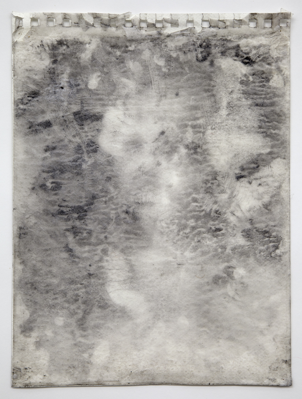Interleaf Drawing (after Goya), 2012