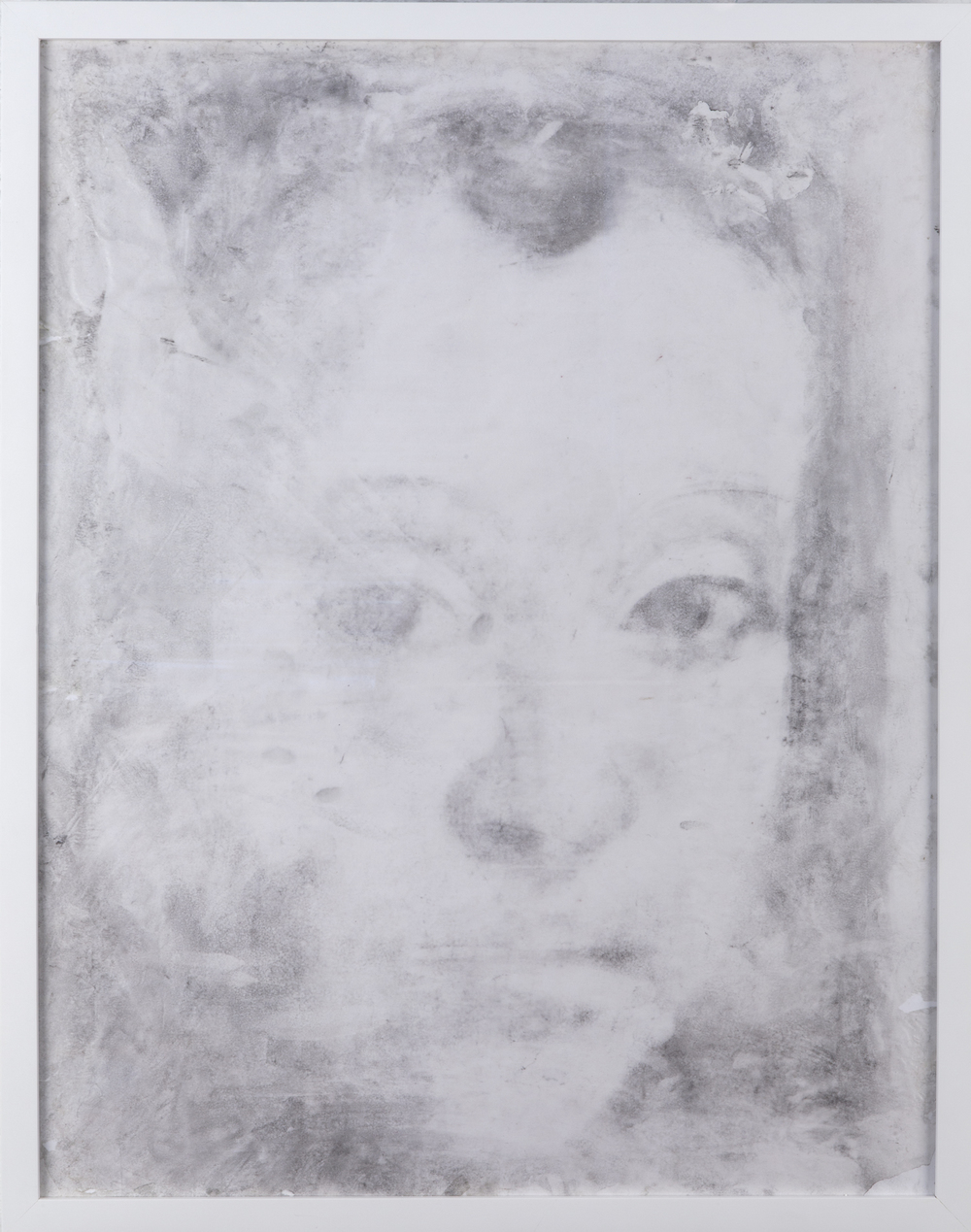 Charcoal on Glassine (after Christus), 2013