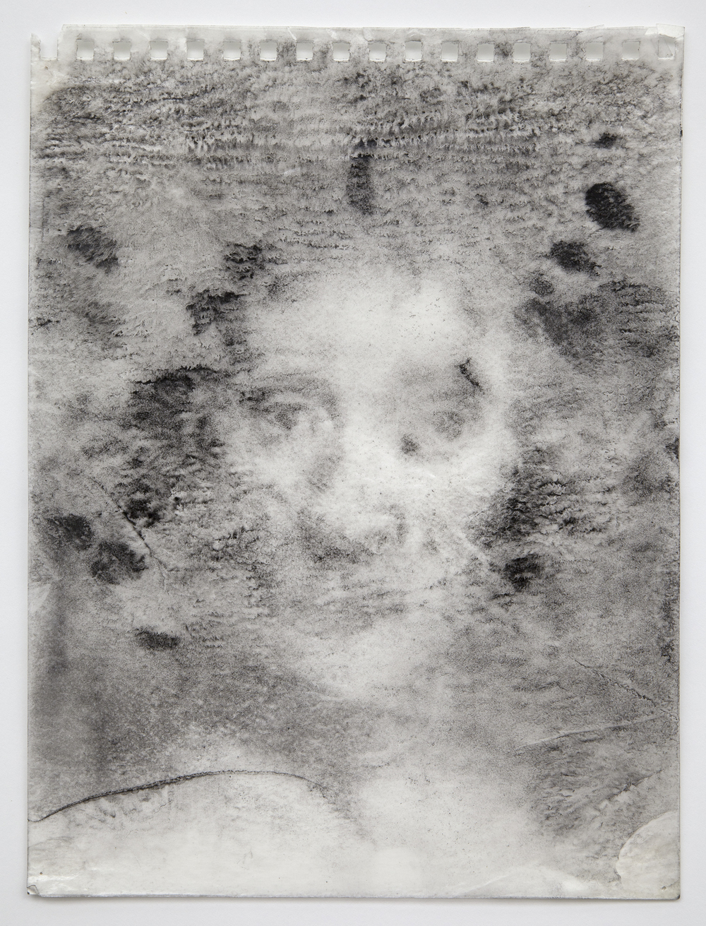 Interleaf Drawing (after Rembrandt), 2012