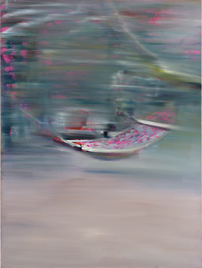 Vagabonde, 2003, 40 x 30 inches, oil on linen