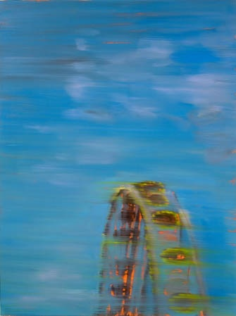 "'Ferris Wheel,' Barbara Friedman, 36""x 27"", 2006"