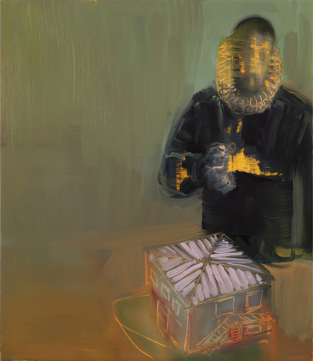 Copy of Priest with Houses, 2016