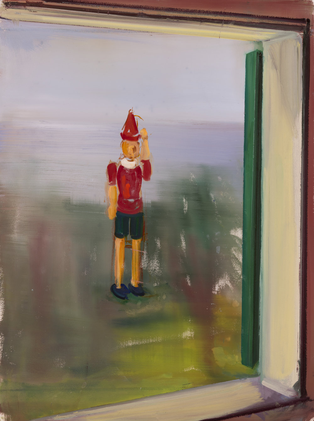 Pinocchio Waving, 2016