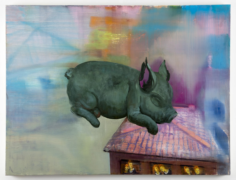 Green Pig and Noblewomen, 2018