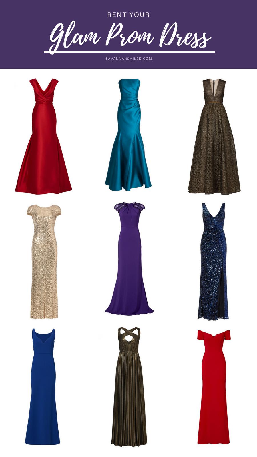 Rent The Glam Prom Dress Savannah Smiled
