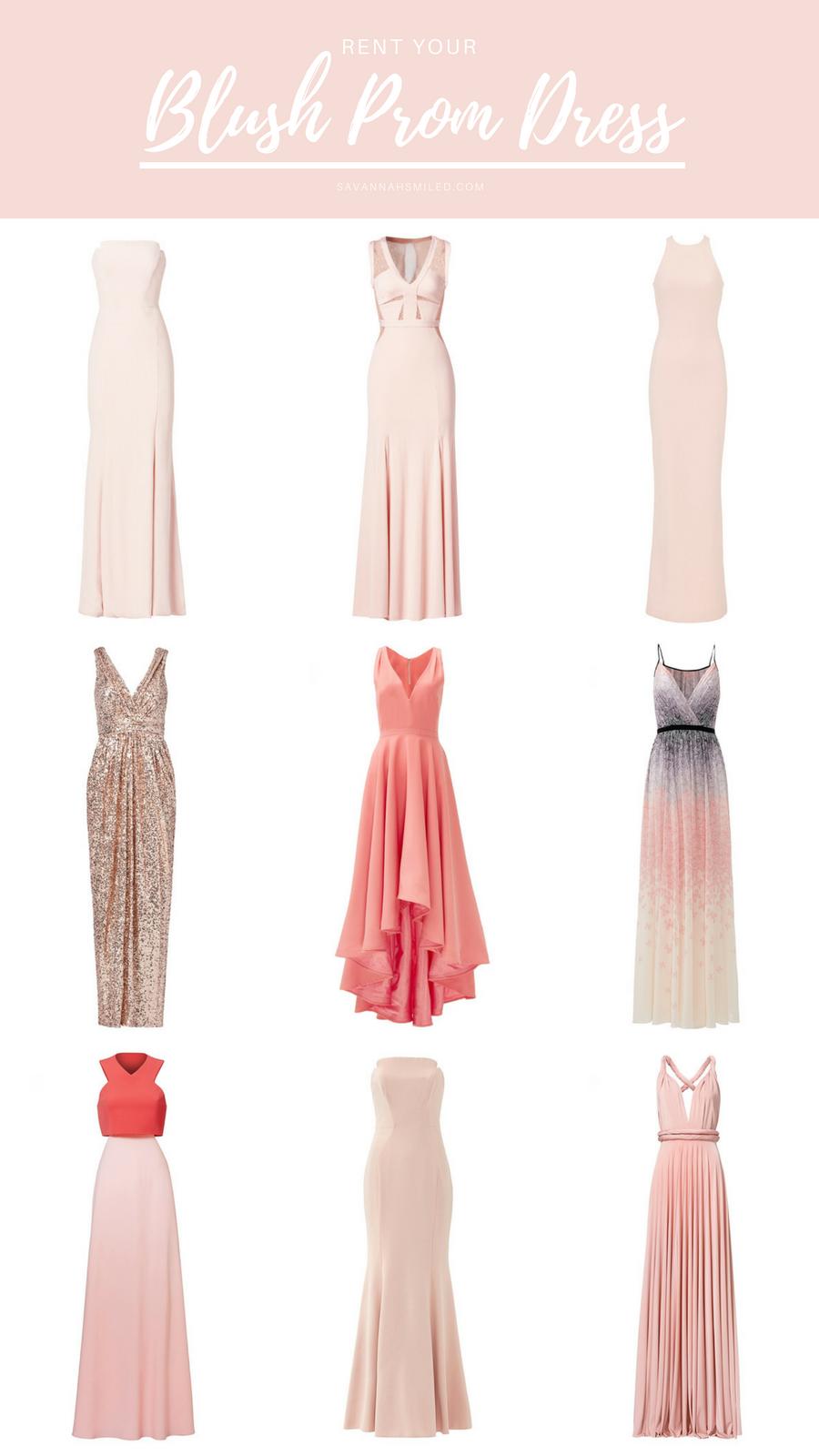 Rent The Blush Prom Dress — Savannah SMILED