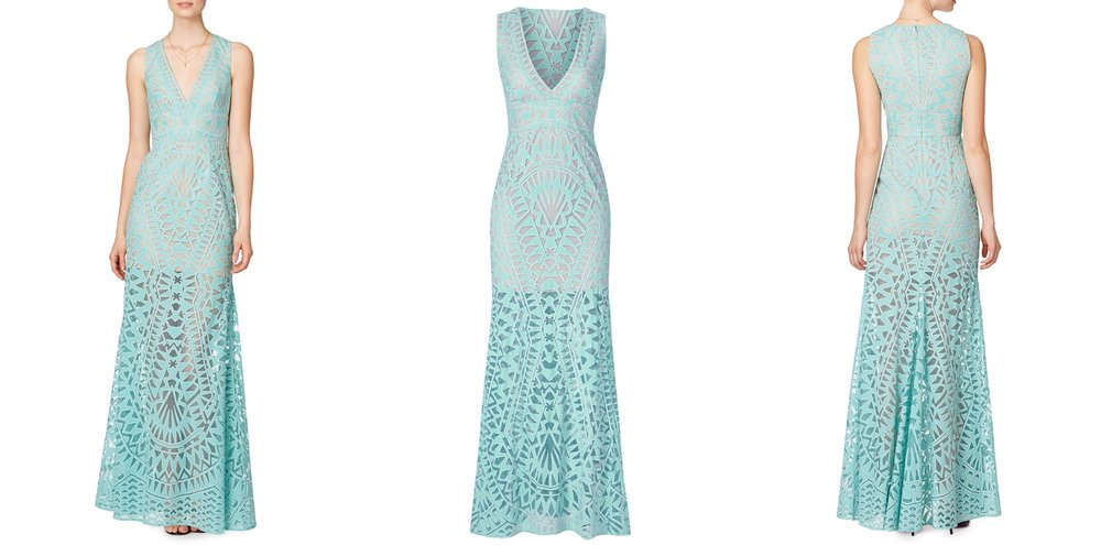 bright-teal-patterned-prom-dress