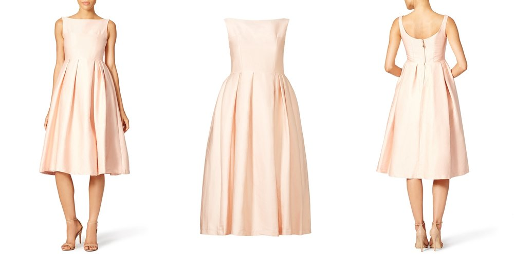 short-blush-pink-wedding-dress-rent-runway