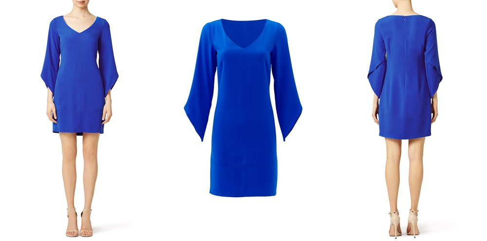 blue-graduation-dress-rent-runway