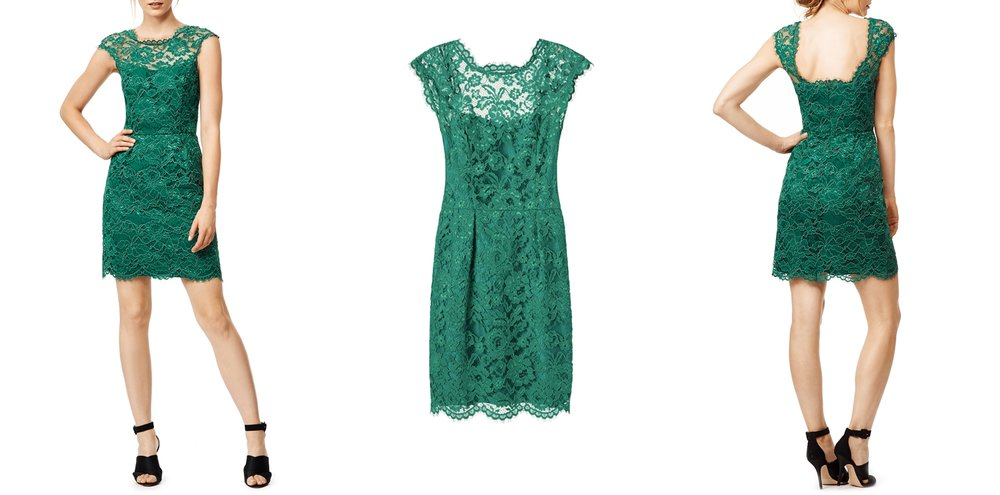 green-graduation-dress-rent-runway