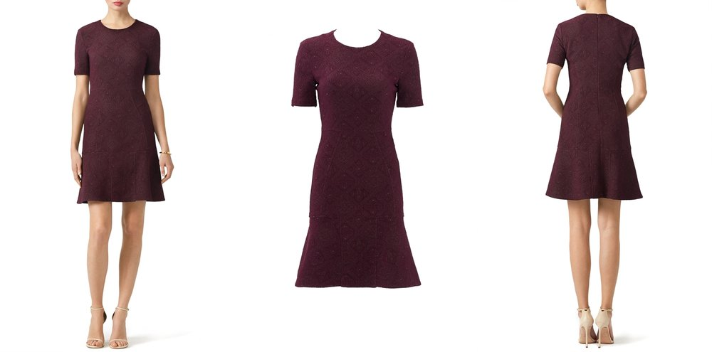 maroon-graduation-dress-rent-runway