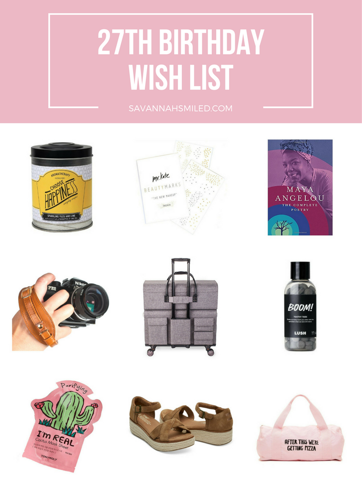 27-years-birthday-wish-list
