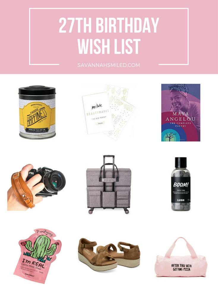 27-years-birthday-wish-list