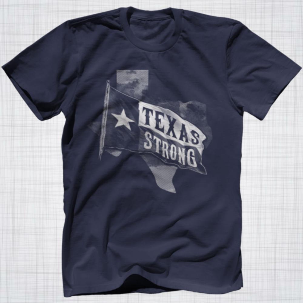 Texas Pride | Texas Strong Tee, $24