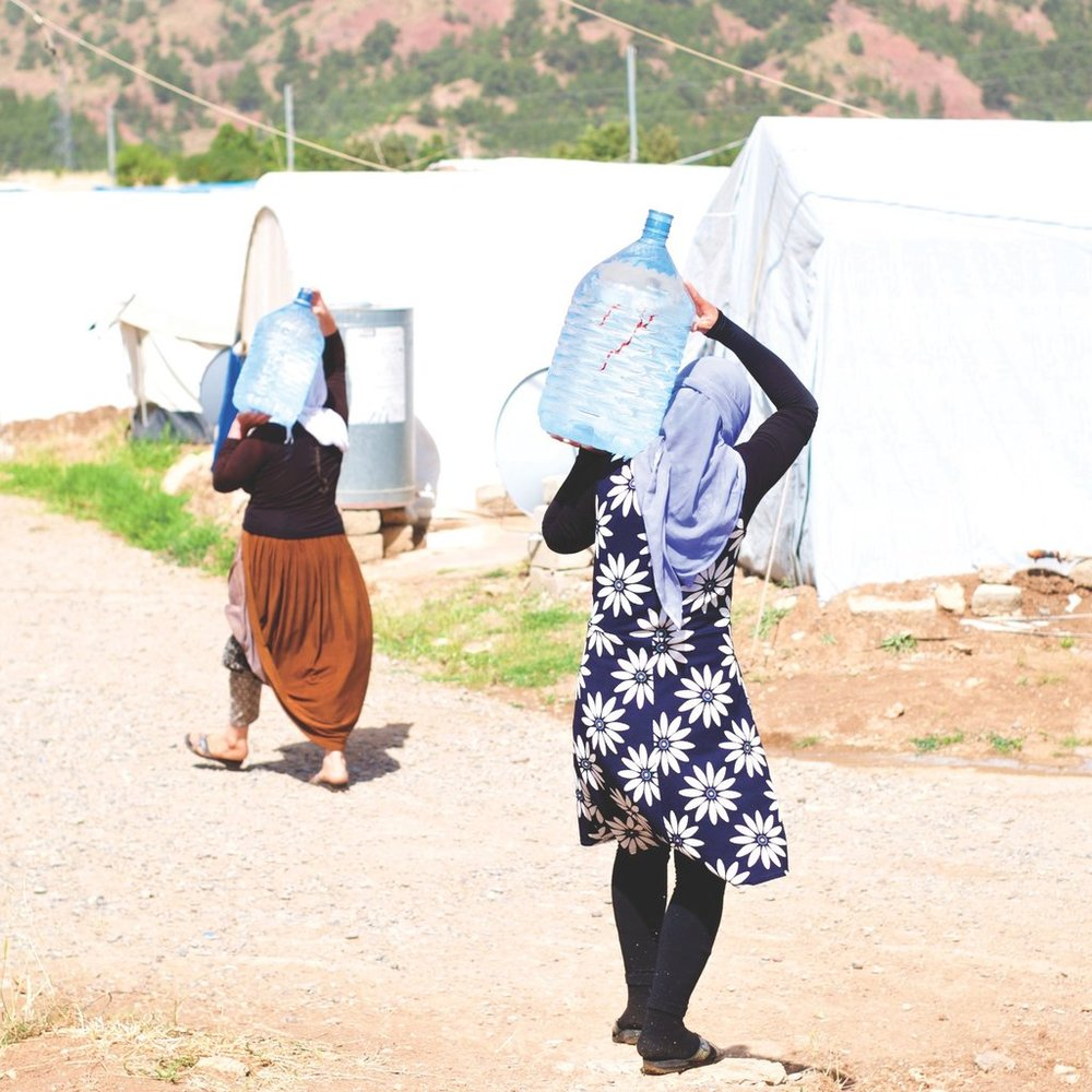 Water for Families in Conflict Zones